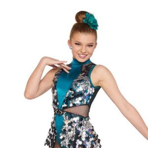 21658  Give It Up Large Holographic Sequin Jazz Dancecostume A