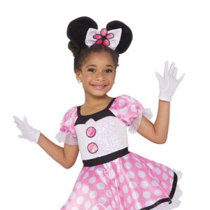 21676  Minnie Mouse Kids Character Performance Dance Costume A