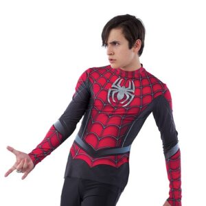 21695  Spider Man Guy Character Performance Dance Top
