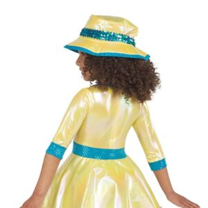 21706  Singin In The Rain Kids Character Performance Dance Costume Back