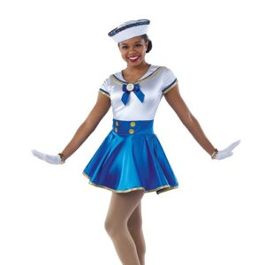 21707  Sea Cruise Sailor Character Performance Dance Costume