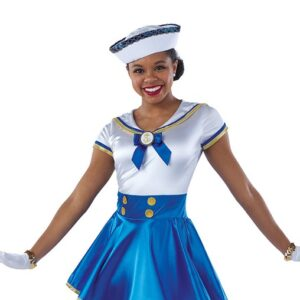 21707  Sea Cruise Sailor Character Performance Dance Costume A