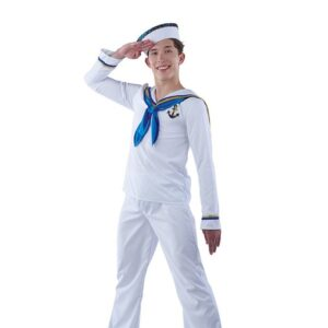 21708  Sea Cruise Guy Sailor Character Performance Dance Costume A