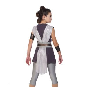 21713  The Force Star Wars Character Performance Dance Costume Back