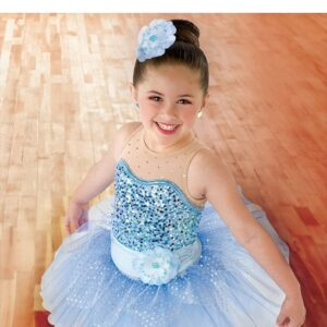 21733  Where Lost Things Go Kids Sequin Performance Ballet Tutu