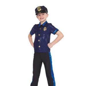 21740  Keystone Cops Police Boys Character Performance Dance Costume A