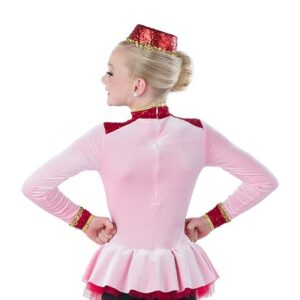 21744  Bell Hop Boogie Concierge Character Performance Dance Costume Back