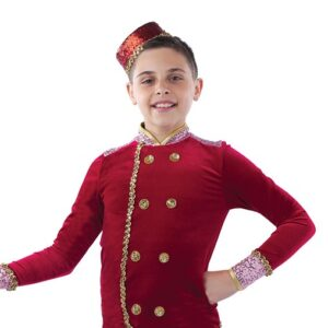 21745  Bell Hop Boogie Concierge Guys Character Performance Dance Costume