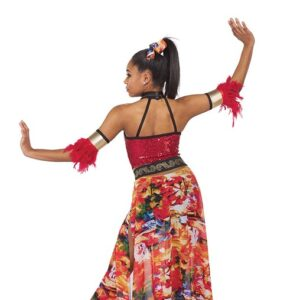 21762  The Lioness Hunt Lion King Inspired Performance Dance Costume Back