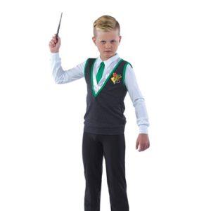 21764  Hogwarts Guy Harry Potter Character Performance Dance Costume Kelly Green