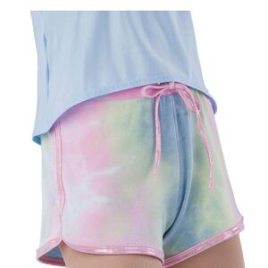 21812HP  Stronger Tiedye French Terry Hip Hop Performance Shorts