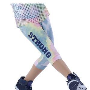 21813P  Stronger Tiedye French Terry Hip Hop Performance Jogger Pants