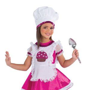 21815Y  Sugar Sugar Chef Kids Character Performance Dance Costume A