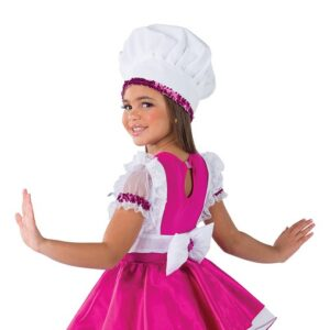 21815Y  Sugar Sugar Chef Kids Character Performance Dance Costume Back