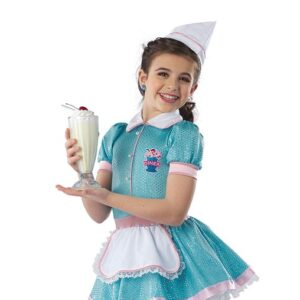 21818Y  Ooby Dooby Diner Waitress Character Performance Dance Costume A