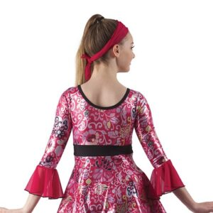 21839  Incense Peppermints Retro Character Performance Dance Costume Back