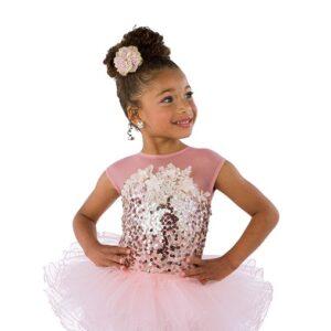 21875  Dreamworld Short Kids Sequin Performance Ballet Tutu
