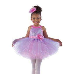 21881  Be True Kids Sequin Performance Ballet Tutu Pink