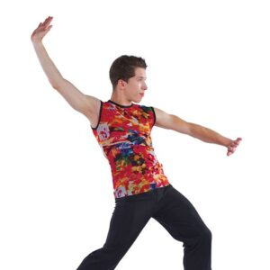 21894  The Lioness Hunt Guys Lion King Inspired Performance Dance Top Back