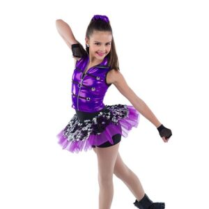 21900  Cant Dance Holographic Sequin Hip Hop Performance Dance Costume
