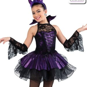 22006Y  Devil Character Dance Costume A
