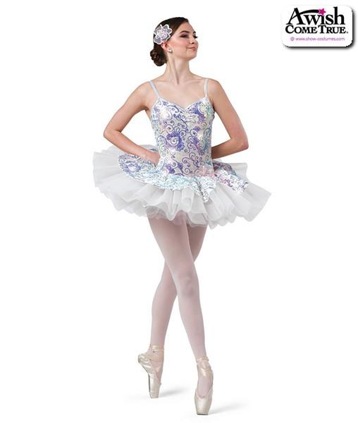 2 2020  Sequin Swirl Velvet Platter Ballet Tutu