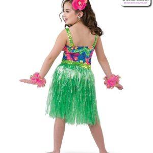 22030  Hawaiian Character Dance Costume Back