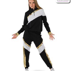 22034  Dryfit Half Zip Hip Hop Performance Jacket
