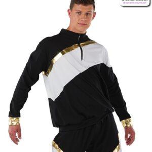22034  Dryfit Half Zip Hip Hop Performance Jacket Guy
