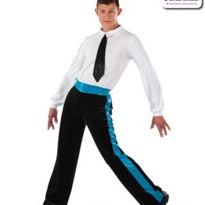 22066  Velvet Long Sleeve Guy Dance Unitard