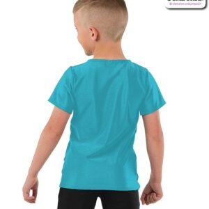 22074  Boys Sequin Dance Vest Back