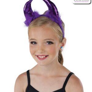 22080HY  Devil Headband Costume Accessory