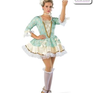 22914  Foil Print Character Dance Costume
