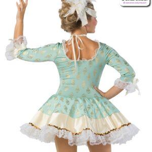 22914  Foil Print Character Dance Costume Rear