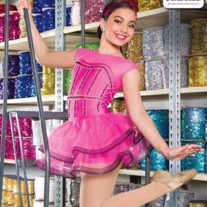 22918  Beaded Spandex Mesh Jazz Dance Costume