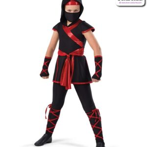 22924Y  Ninja Character Dance Costume A
