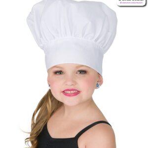 22927H  Chef Hat Dance Costume Accessory