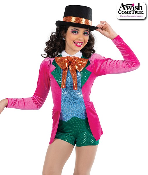 22928  Mad Hatter Character Dance Costume A