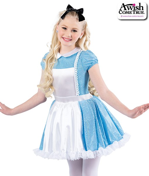 22929  Alice In Wonderland Character Dance Costume A