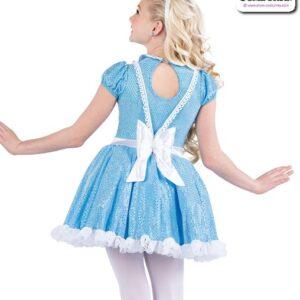 22929  Alice In Wonderland Character Dance Costume Back