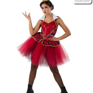 22930 Off With Their Heads - Queen Of Hearts Dance Costume