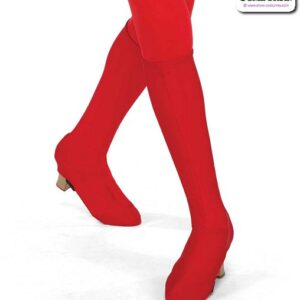 22970B  Spandex Boot Covers Dance Costume Accessory