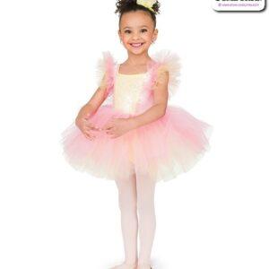 22971  Kids Velvet Sequin Ballet Tutu