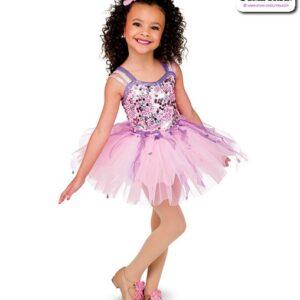 22974  Glitz Sequin Mesh Kids Tap Dance Costume