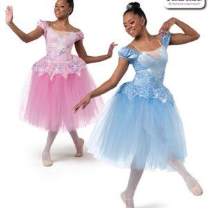 22984  Sacttered Sequin Lace Romantic Ballet Tutu