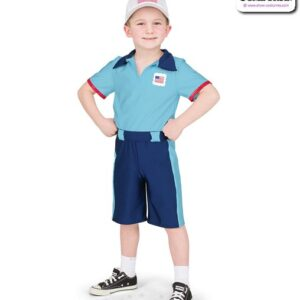 22987  Boy Postie Character Dance Costume A