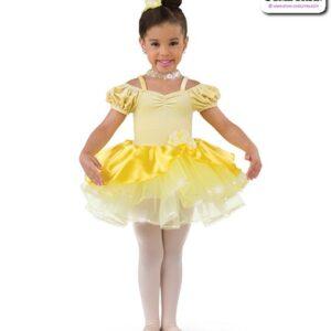 22995  Velvet Satin Kids Performance Short Ballet Tutu