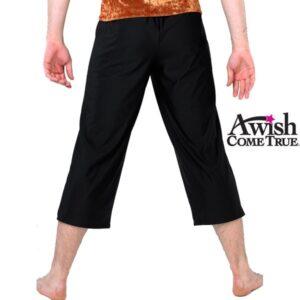 Guys Spandex Crop Pants 2