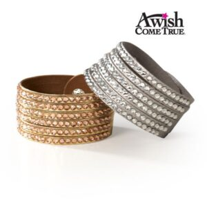 Rhinestone Cuff Bracelet 2