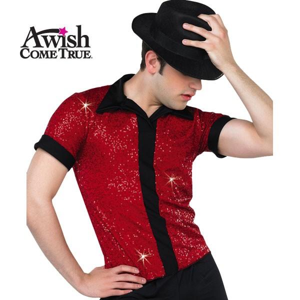 Sequin Placket Shirt